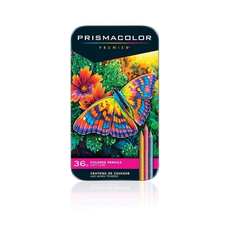 Prismacolor Soft Core, Lápis de cor, 36 cores