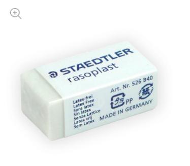 Staedtler, Borracha Rasoplast pequena