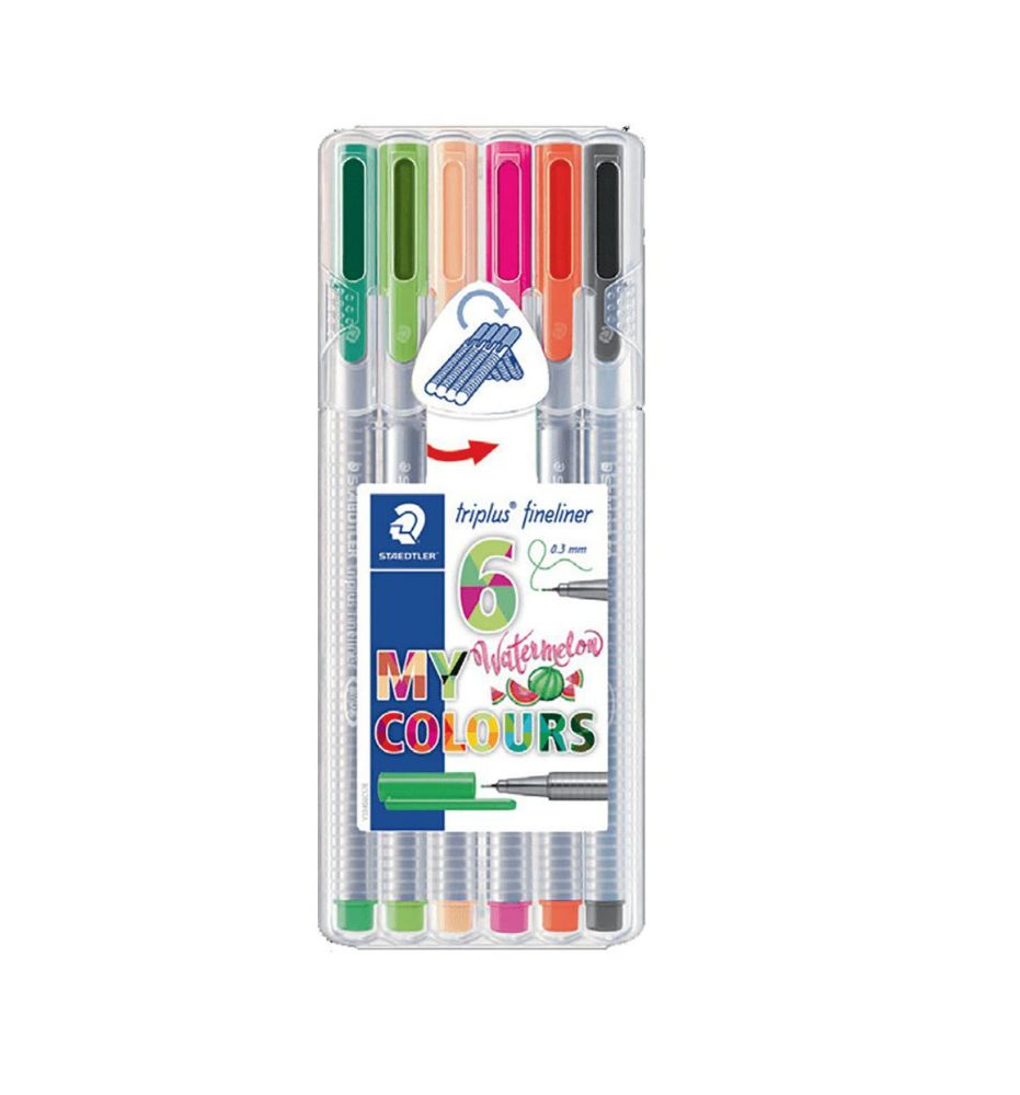 Staedtler, Caneta Triplus Fineliner, 0.3mm - Watermelon