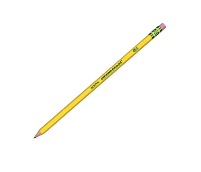 TICONDEROGA, Lápis preto #2HB Soft