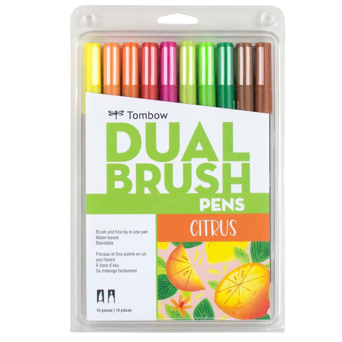 Tombow - Dual Brush Pen Citrus