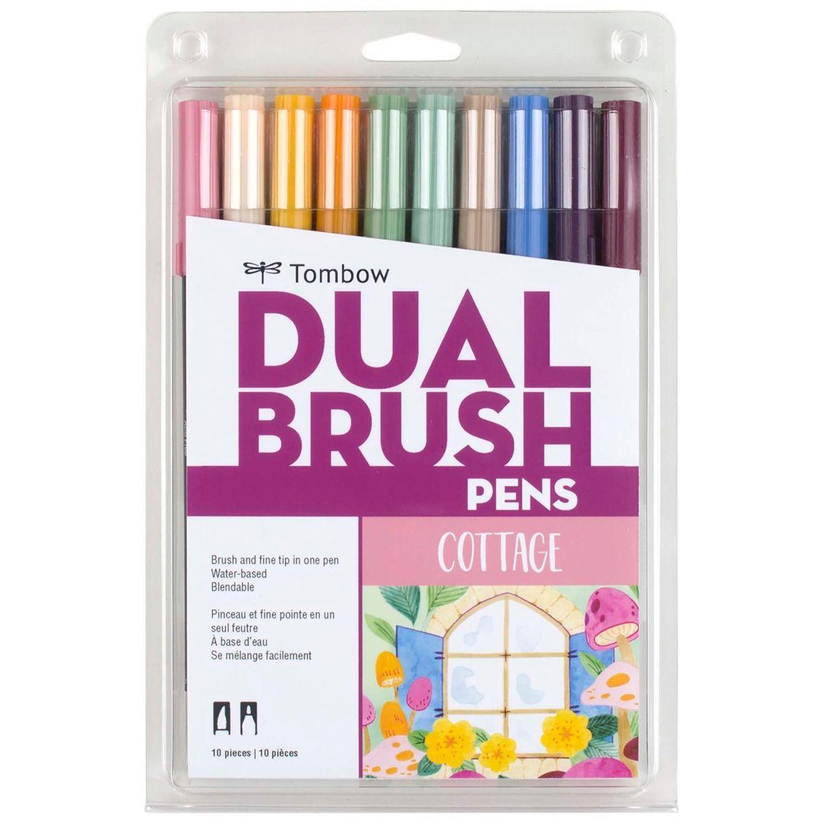 Tombow - Dual Brush Pen, Cottage