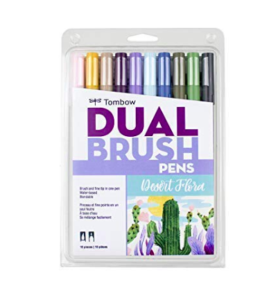 Tombow  Dual Brush Pen Desert Flora