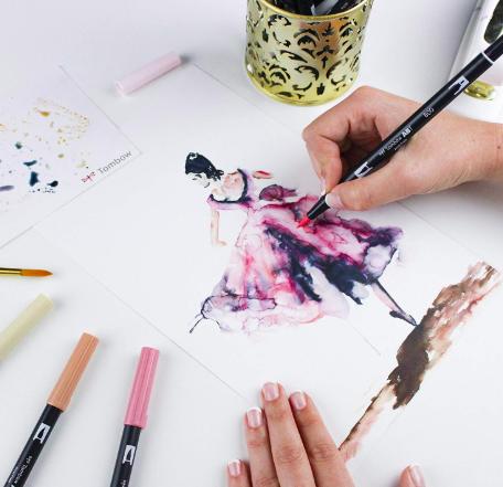 Tombow - Dual Brush Pen Portrait