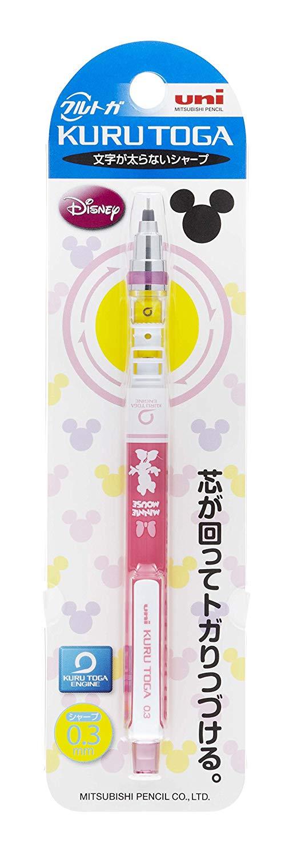 Uni-Ball, Lapiseira Kuru Toga Disney Minnie Mouse, 0.3mm