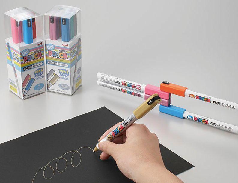 Uni Posca Do! Mitsubishi Pencil - 7 cores pastel