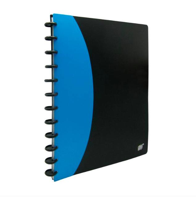 Yes, Pasta Catálogo c/ discos inteligente - 20 folhas plásticas - A4