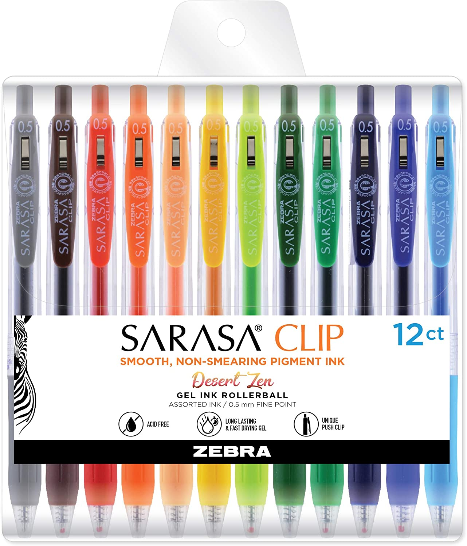 Zebra - Caneta Gel Sarasa Clip 0.5 - Col. Limitada