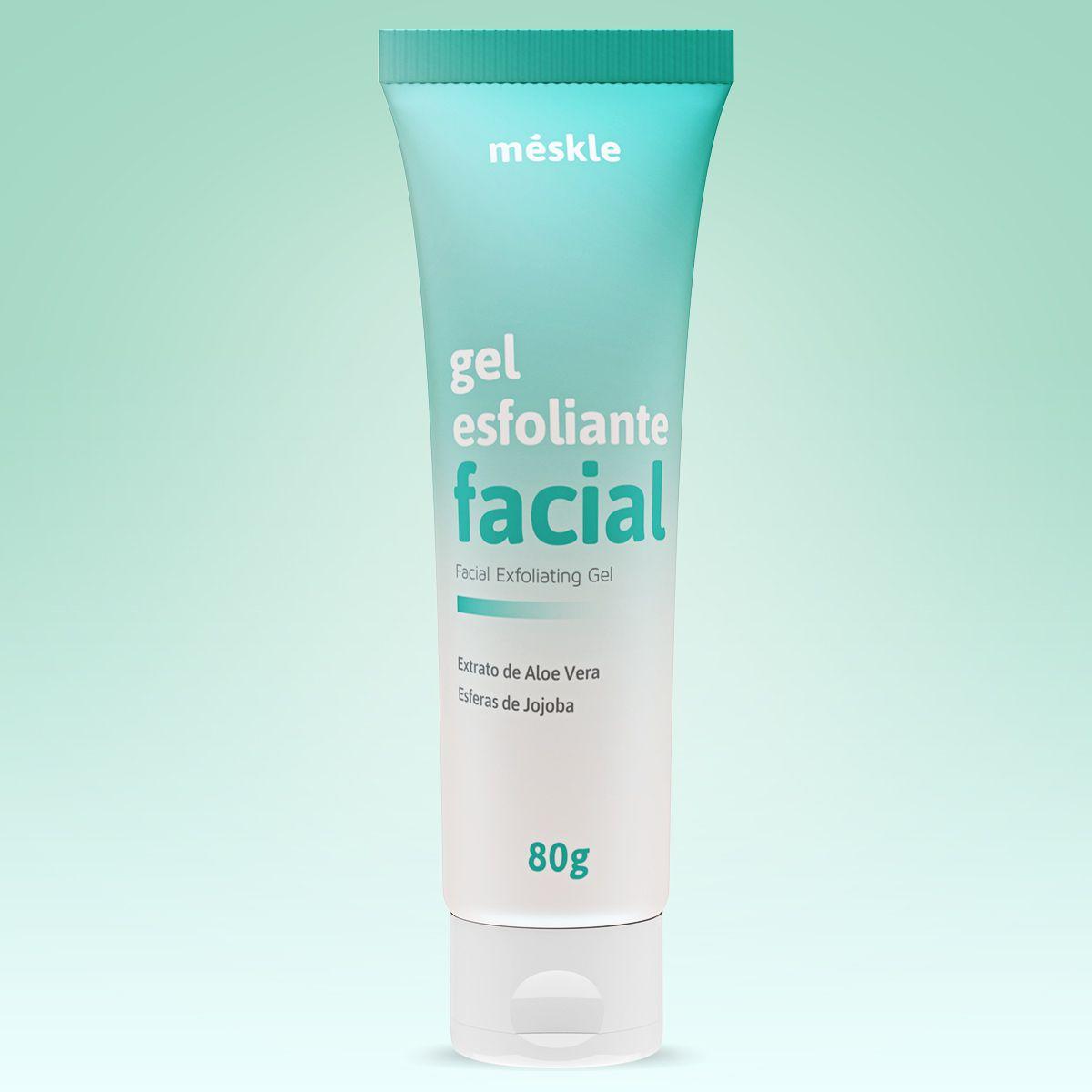 Gel Esfoliante Facial Méskle 80g