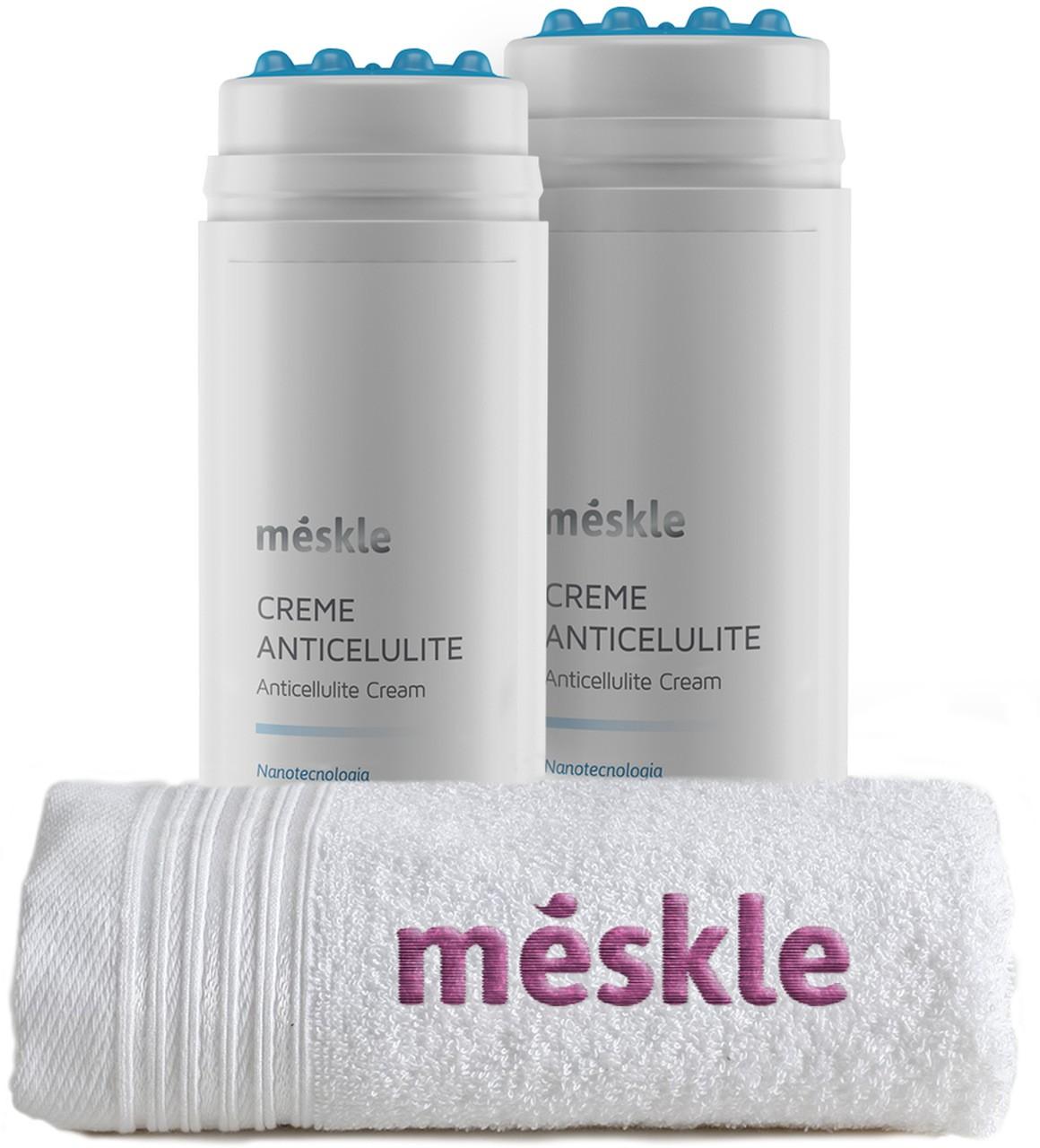 KIT com 2 Cremes Anticelulite Méskle