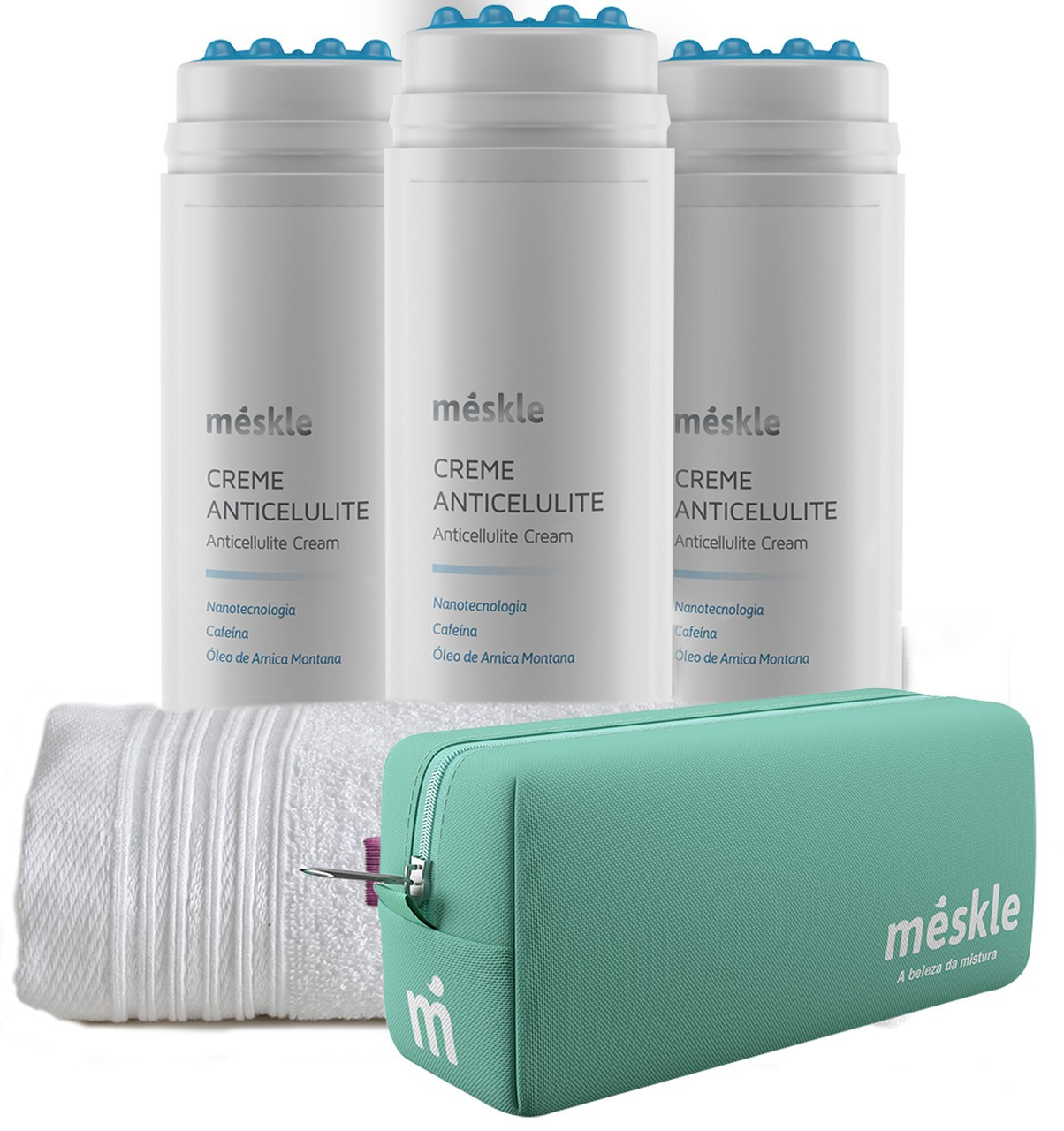 KIT com 3 Cremes Anticelulite Méskle