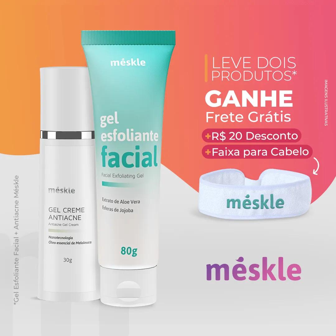 Kit Esfoliante + Antiacne Méskle