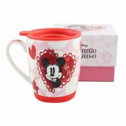 CANECA COM TAMPA MINNIE YOU HOO