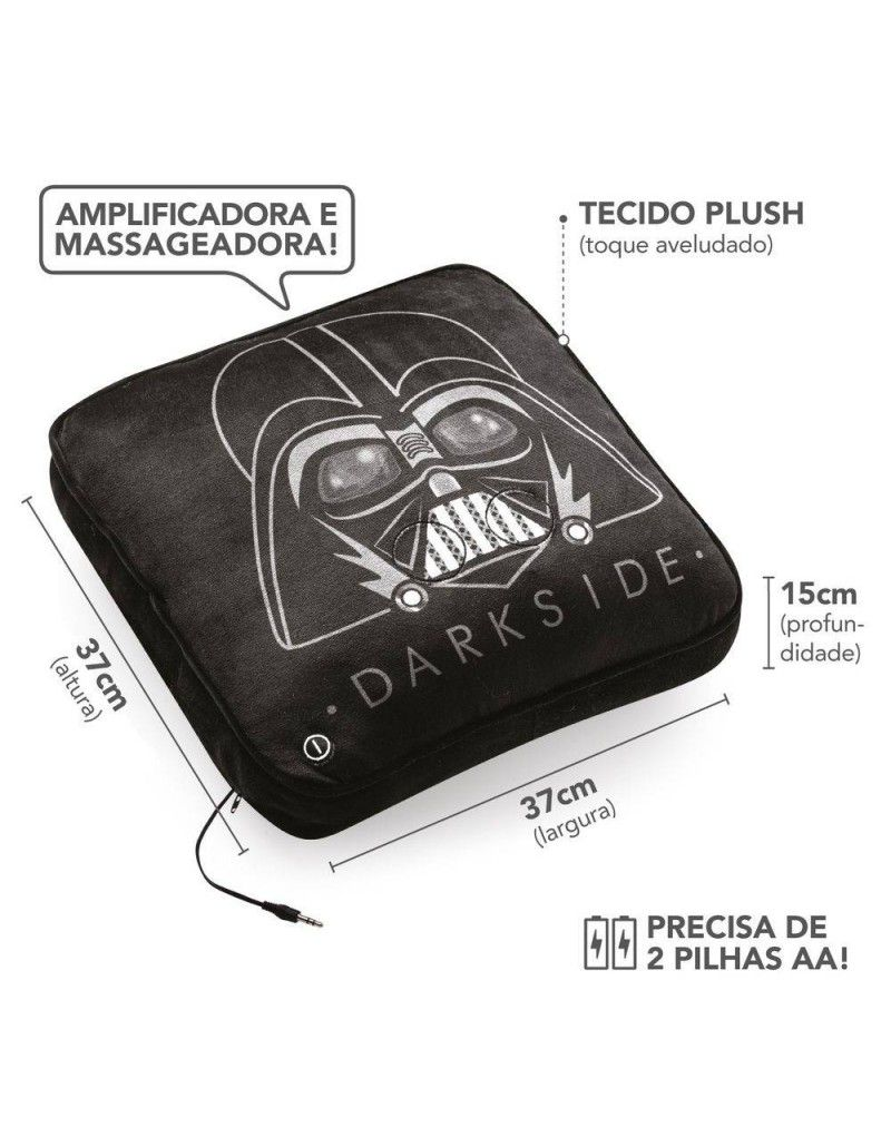 ALMOFADA MASSAGEADORA STAR WARS