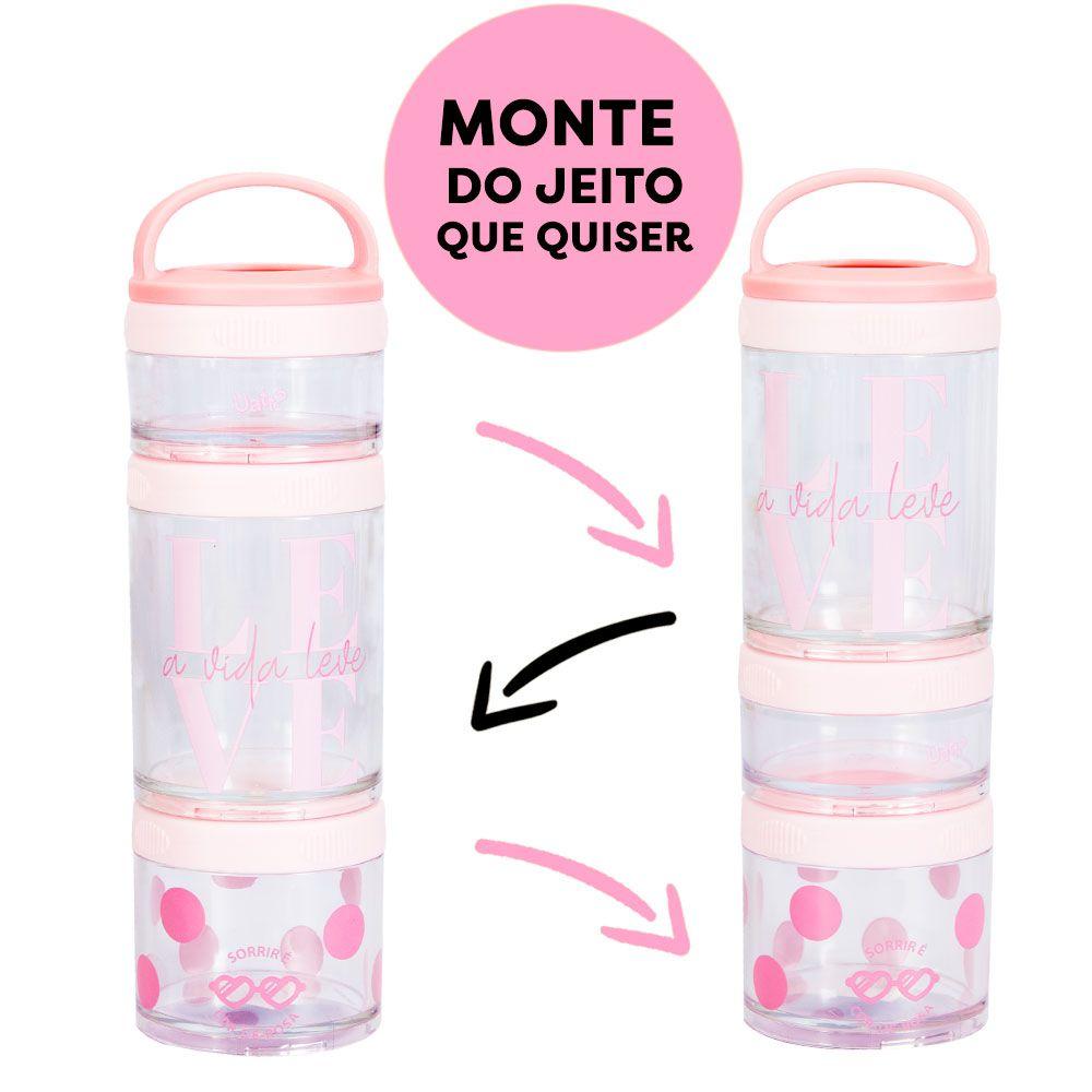 MARMITA TOP - COR DE ROSA