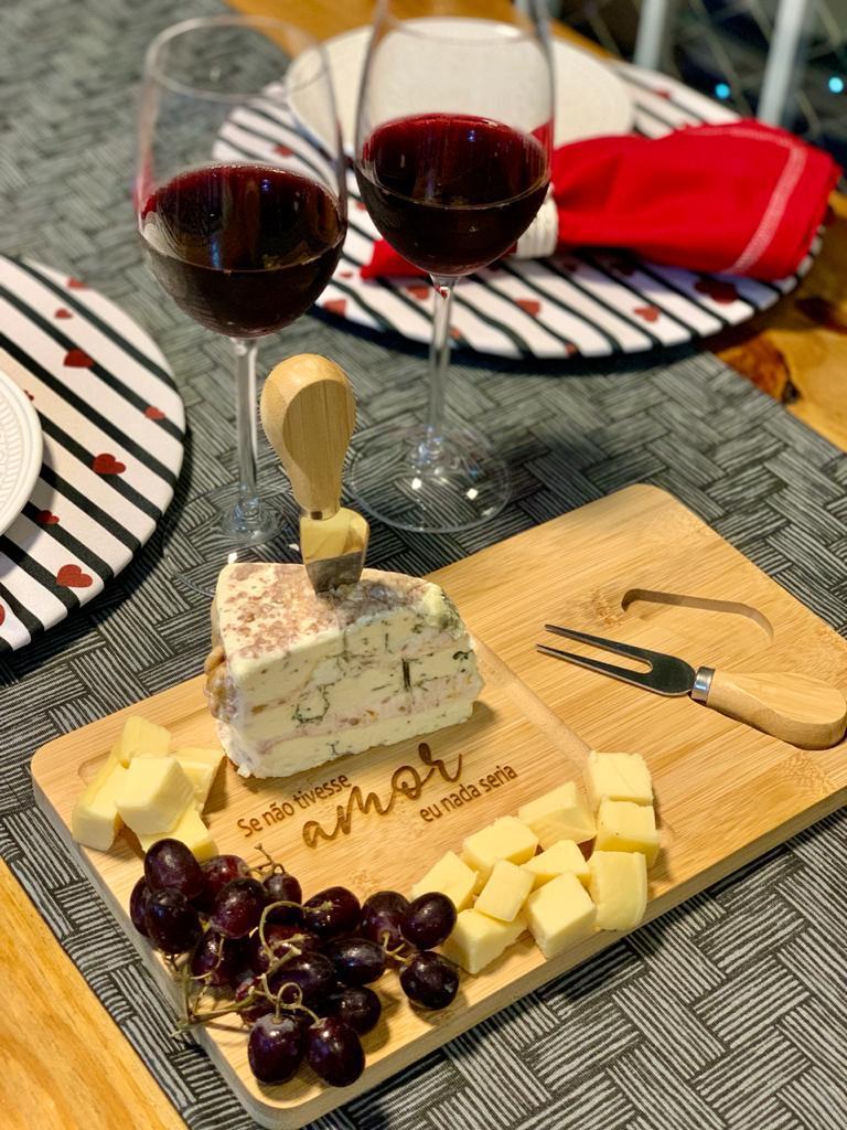 Tábua de queijo 3 peças