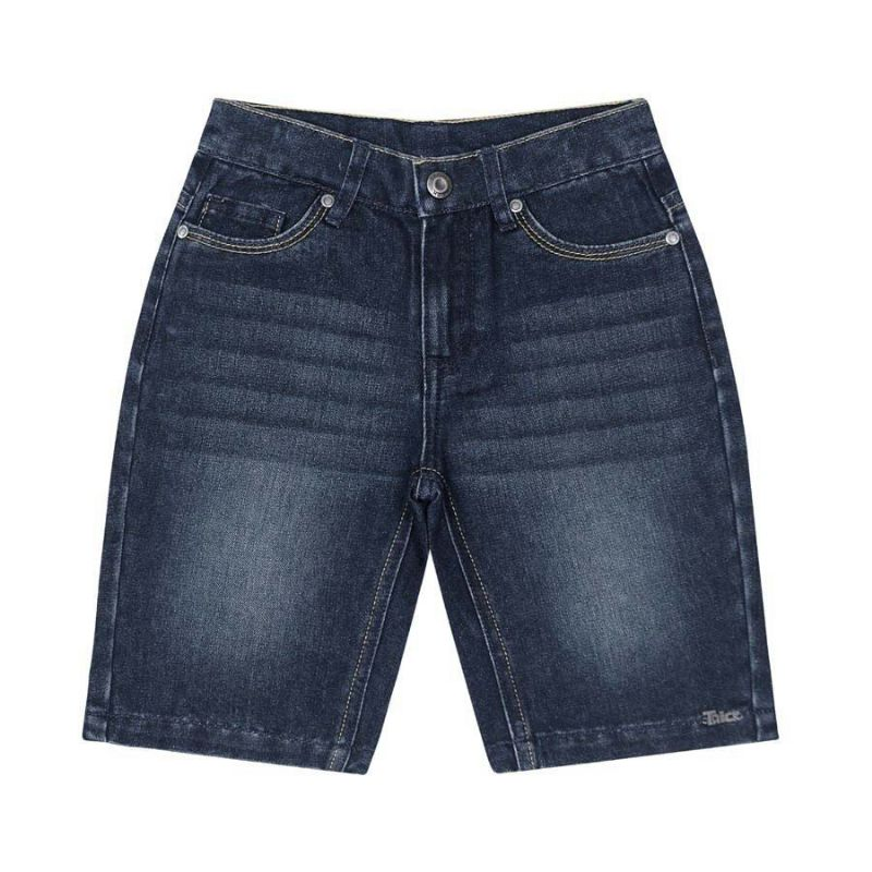 Bermuda Infantil Menino Jeans - Trick Nick