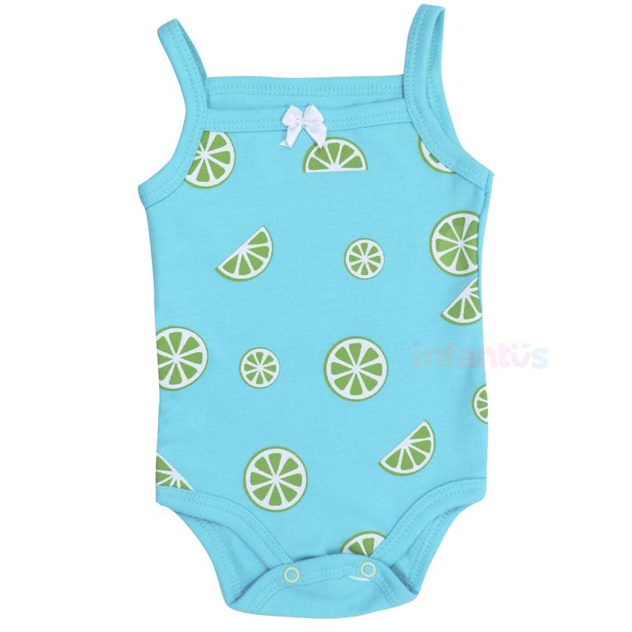 Body Alça Limão - Babyhood