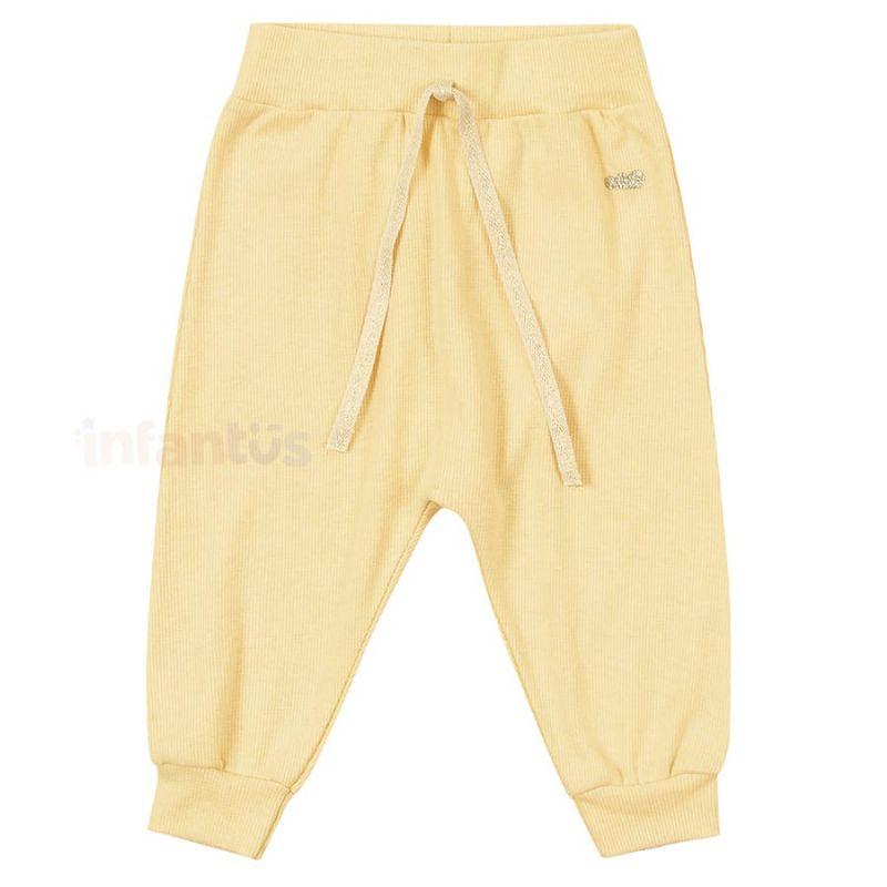 Calça Baby Amarelo - Marlan