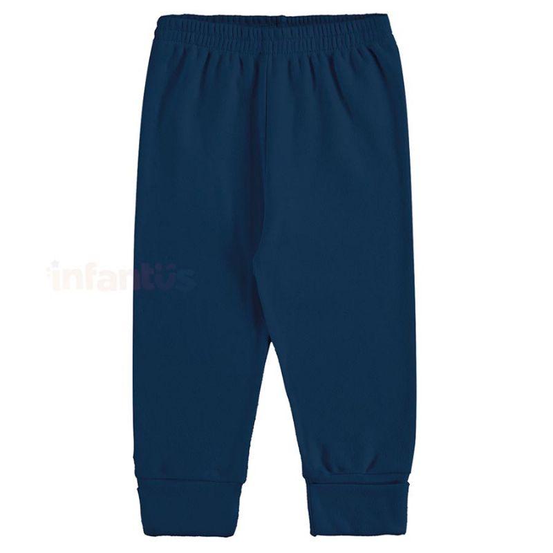 Calça Moletom Azul Marinho - Marlan