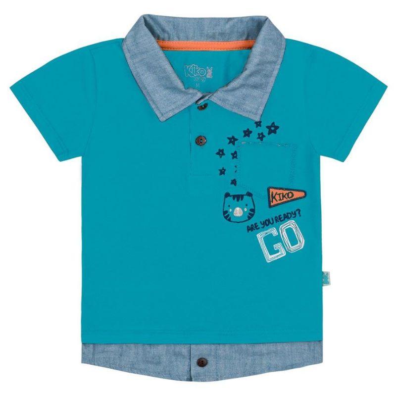 Camisa Bebê Menino Polo Go - Kiko & Kika
