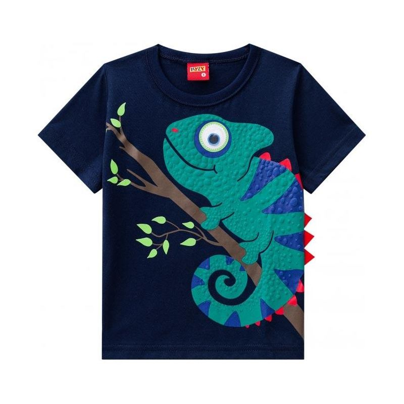 Camisa Infantil Menino Camaleão - Kyly