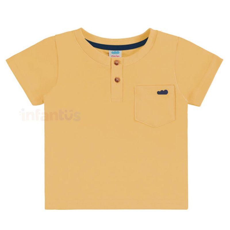 Camisa Lisa Amarelo - Marlan