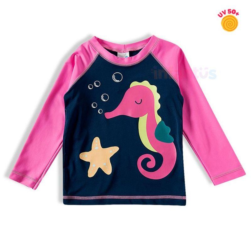 Camiseta Praia Cavalo Marinho - TipTop