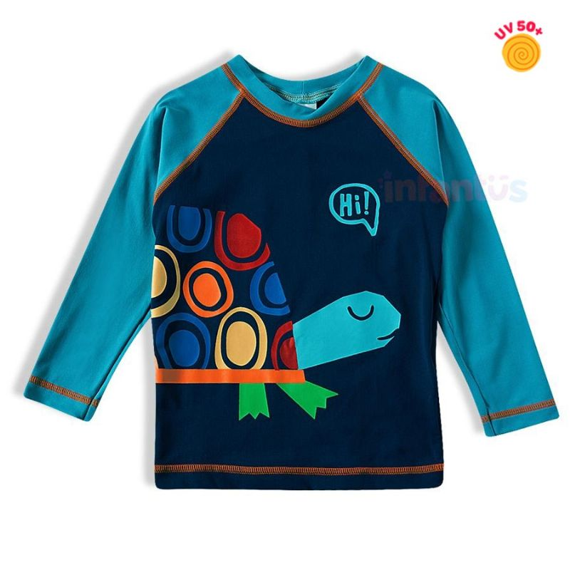 Camiseta Praia Tartaruga - TipTop
