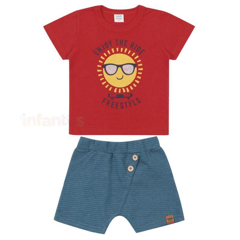 Conjunto Sol Vermelha - Marlan