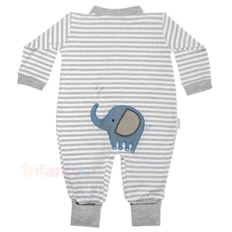 Macacão Elefante Listras - Batistela Baby