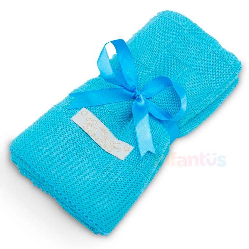 Manta para Bebê Azul Cintilante - SB