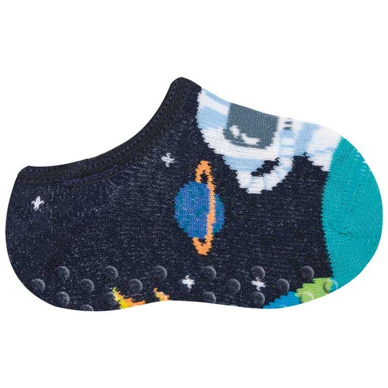Meia Bebê Sapatilha Astronauta - Selene