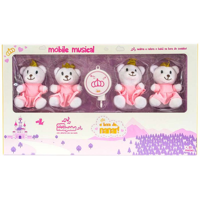 Mobile Musical Princesa Urso - Unik