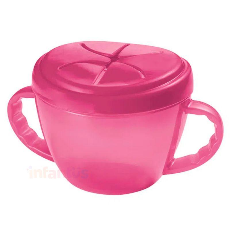 Porta Biscoitinhos Rosa - MultiKids
