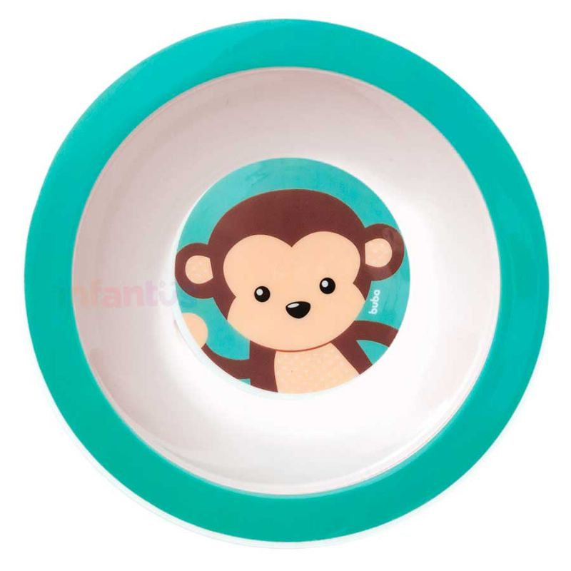 Pratinho Bowl Animal Fun Macaco - Buba