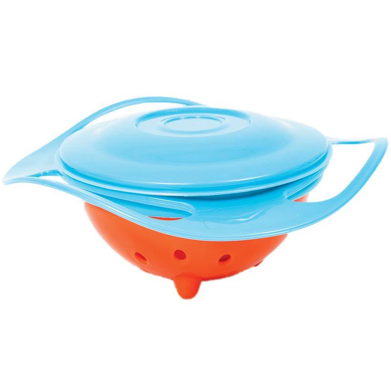 Prato Giro Bowl 360° Azul - Buba