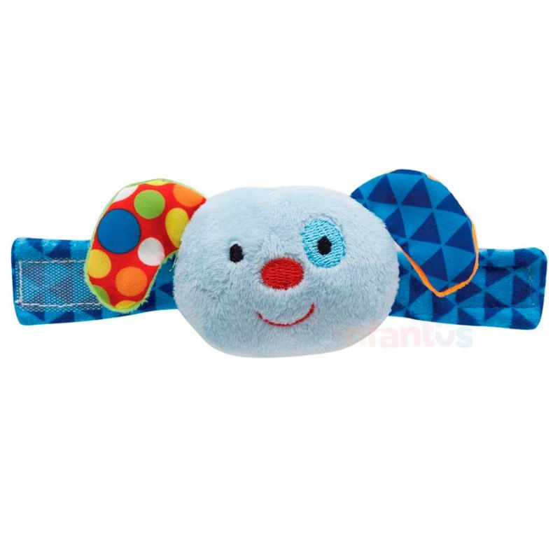 Pulseirinha com Chocalho Happy Zoo Dog - Buba