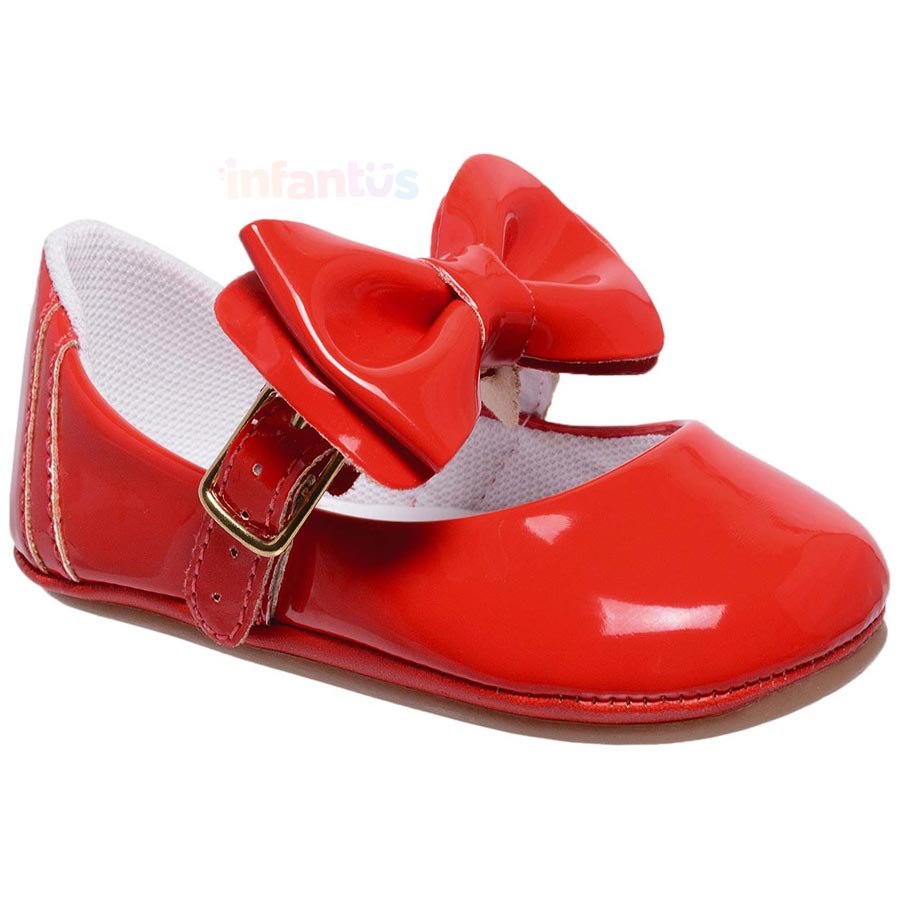 Sandália Infantil Laço Vermelho - Baby i