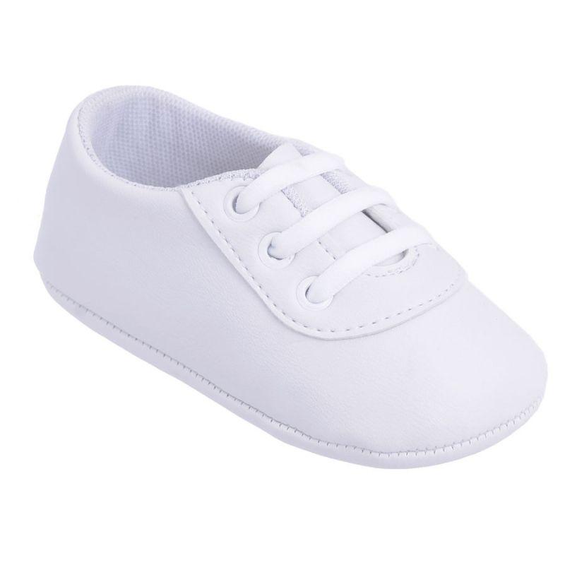 Sapato para Bebê Cadarço Branco