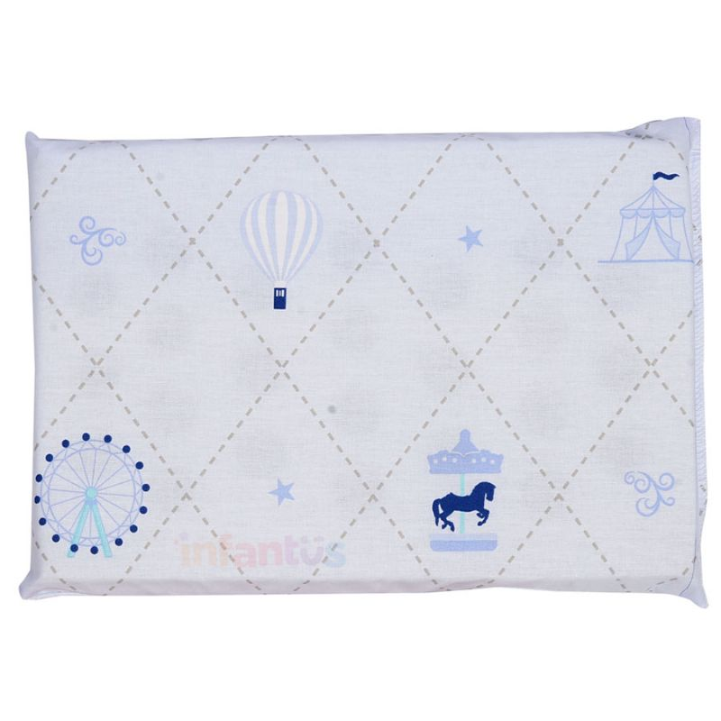 Travesseiro Antissufocante Azul - Circus Loupiot