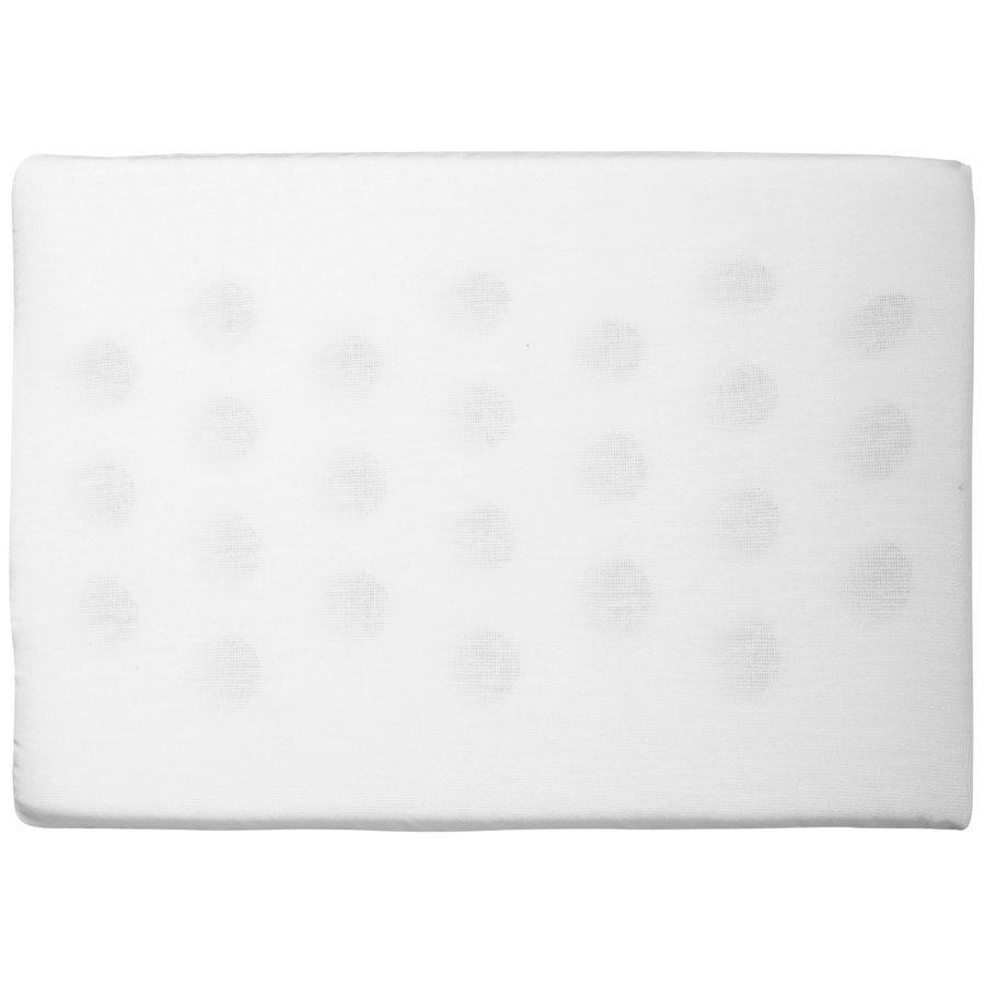 Travesseiro Antissufocante Branco Liso 32x22x3cm 1un - Bambi