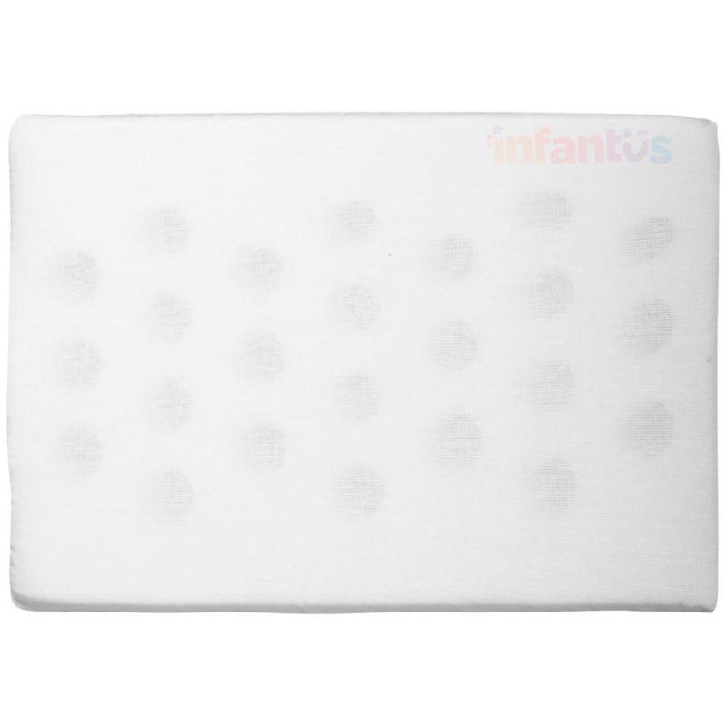 Travesseiro Antissufocante Branco Liso - Bercinho