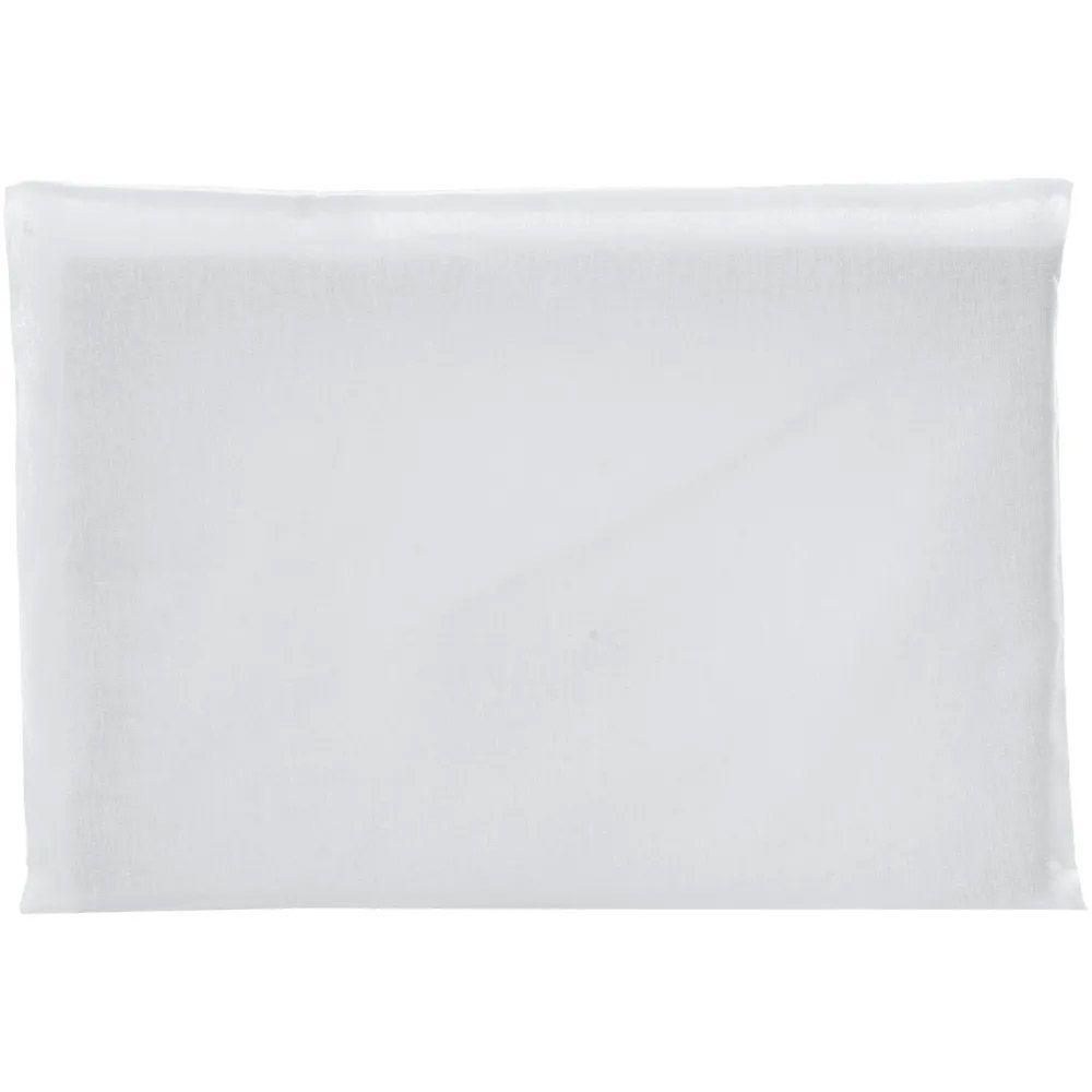 Travesseiro Antissufocante Cinza Malha Liso 32x22x3cm - Bambi
