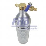Garrafa Injetora Kit Flushing Limpeza Refrigeração 141b Sem Manômetro