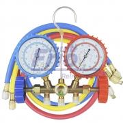 MANIFOLD GAS R12 R22 R134 R404 COM MANGUEIRA 90CM
