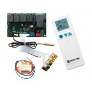 Placa De Comando Kit Central Eletrica Para Ar Condicionado Universal Conexão Pg
