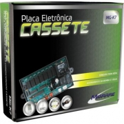 PLACA ELETRONICA UNIVERSAL COM CONTROLE REMOTO SPLIT CASSETE MG K7 12 A 80K MIGRARE