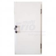 Porta Giratória Reversível Com Puxador e 4 Batentes Para Câmara Frigorífica De Resfriados 1,80  X 0,80 Metros