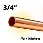 Tubo Cano Cobre 3/4 Flexível Por Metro